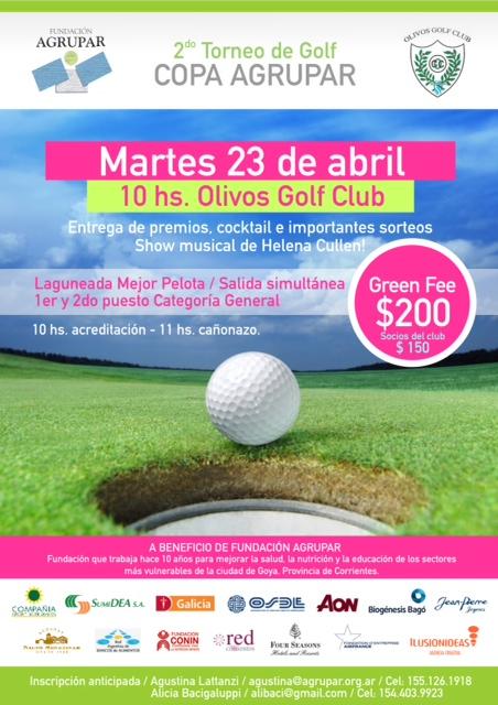 Golf Tournament April 2013