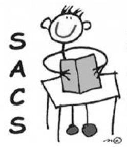 SACS Logo B&W